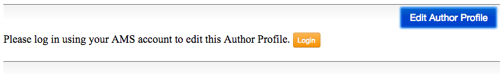 Screen Shot Author Profile Search - login prompt