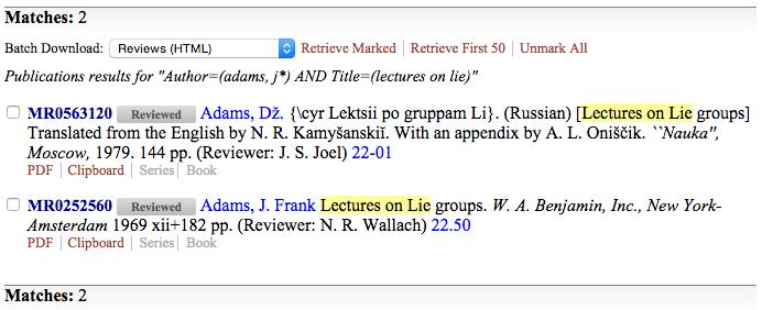 Screen Shot Wikipedia - MR adams j - results