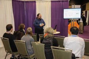 Andrés Caicedo demonstrates MathSciNet