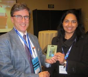 Prize winner Nimisha Pathak