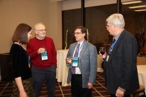 Ina Mette (AMS book program), Tadeusz Jozefiak (Math Rev), Edward Dunne, Patrick Ion