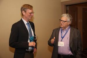 Managing Editor Norman Richert and Peter Loeb