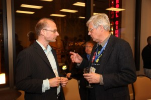 Olaf Teschke (zbMATH) and Patrick Ion (retired editor from Math Reviews)