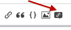 Highlighting the icon for the Citation Helper
