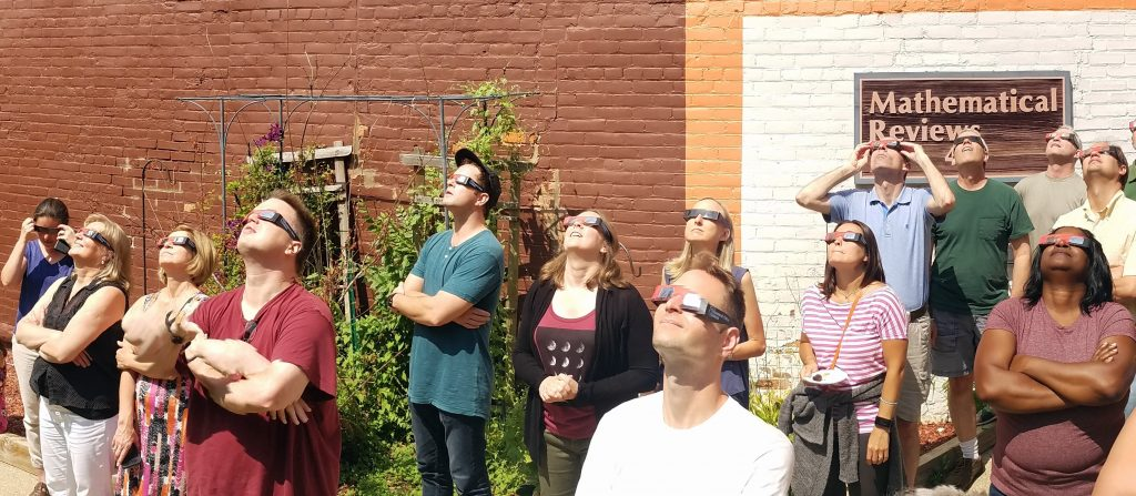 Math Reviews watching the Eclipse of 2017