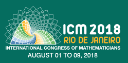 Logo for ICM 2018