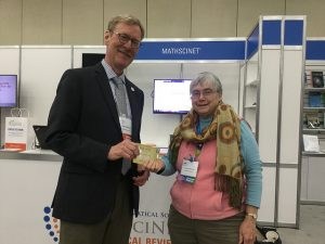Barbara Reynolds, winner of one of three gift cards
