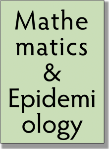 Mathematics & Epidemiology text block