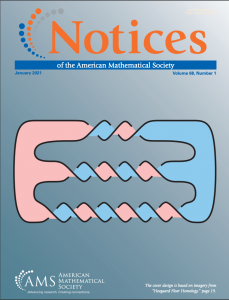 Cover of the January 2020 issue of the Notices of the AMS