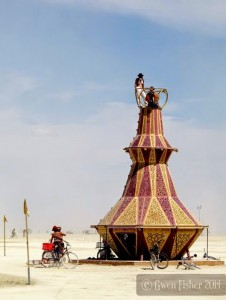 The Genie Bottle at Burning Man. Image copyright Gwen Fisher. Used with permission.