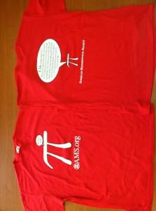 AMS Pi-Day T-Shirt