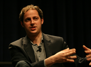 Nate Silver speaking at SXSW in 2009. Photo by Randy Stewart, available under CC BY-SA 2.0 license.