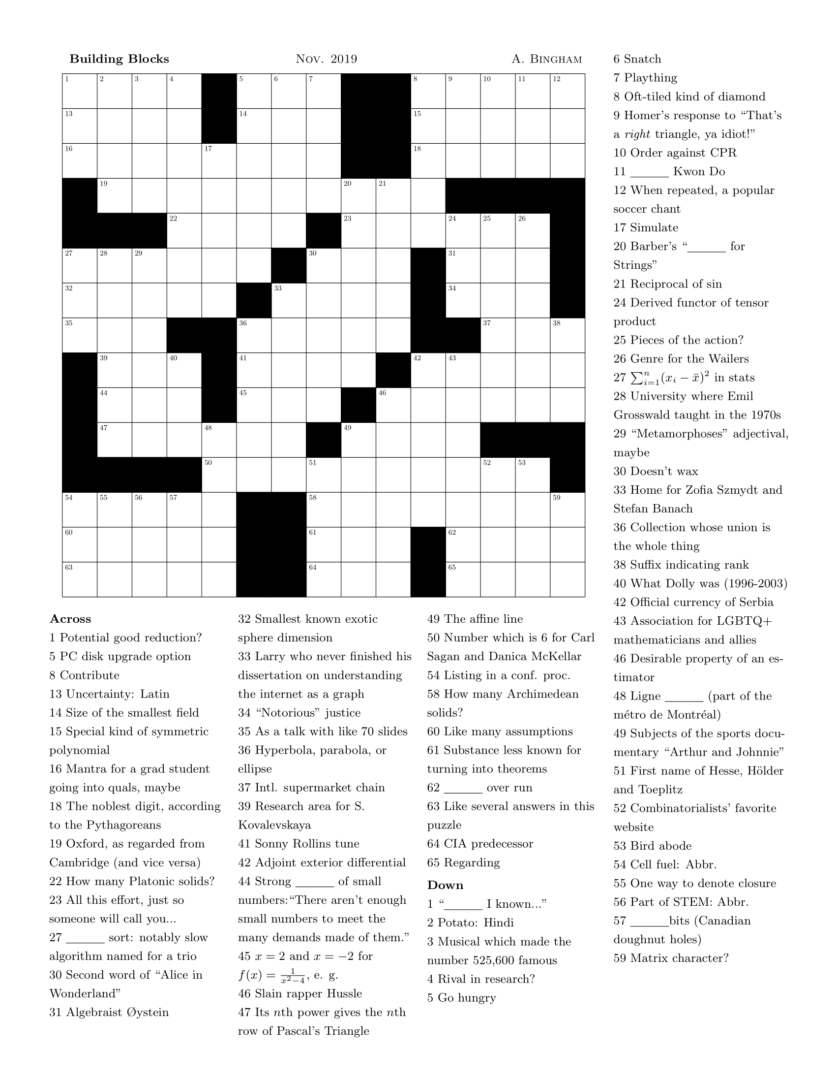 Crossword Or Diversion As A Vehicle For Conversation On Power And Usage