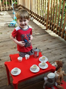 Sebastian's tea party