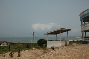 Ocean view from AIMS-Ghana.