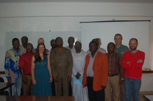 Group photo with our hosts in Lome, Togo.