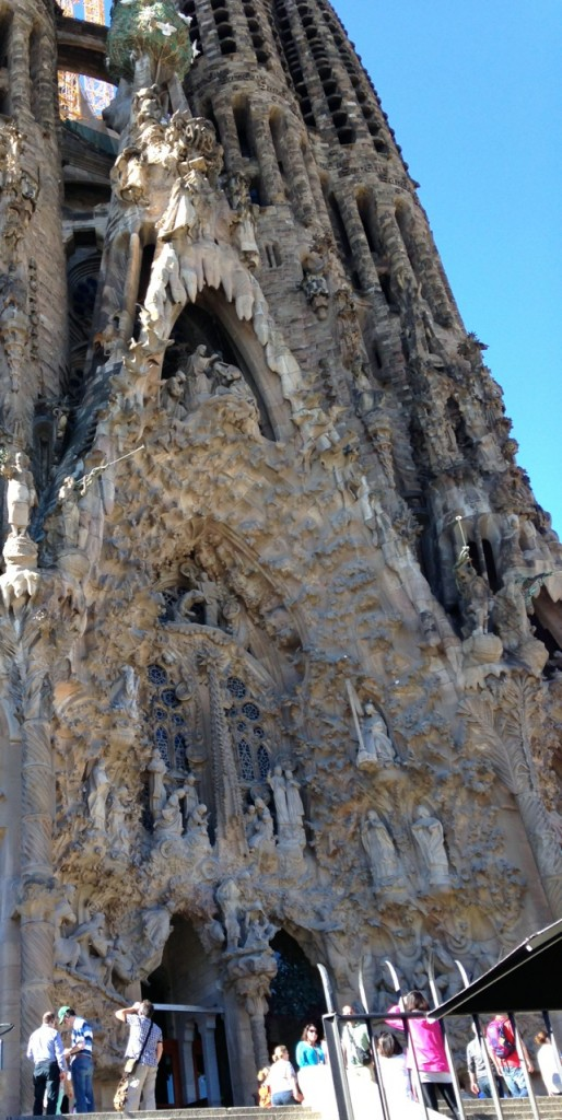 This application didn't take as long as building La Sagrada Familia, but it did take most of my trip to Barcelona.