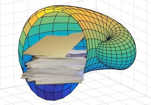 MATLAB cornucopia filled with papers
