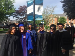 Many of the Hood College new faculty cohort.