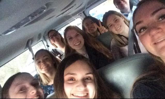 The van ride to DC!