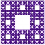 Sierpinski Carpet - Noon Silk
