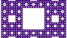 Sierpinski Carpet - Noon Silk