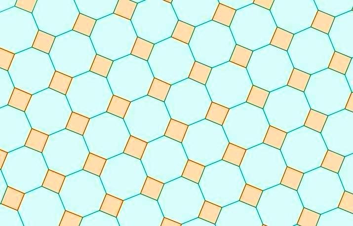Truncated square tiling - Turmamataplicada