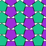 Densest Double Lattice Packing of Regular Pentagons - Toby Hudson