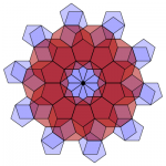 Pentagon-Decagon Branched Covering (Stage 10) - Greg Egan