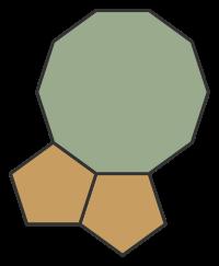 Regular Polygons Meeting at Vertex: 5.5.10