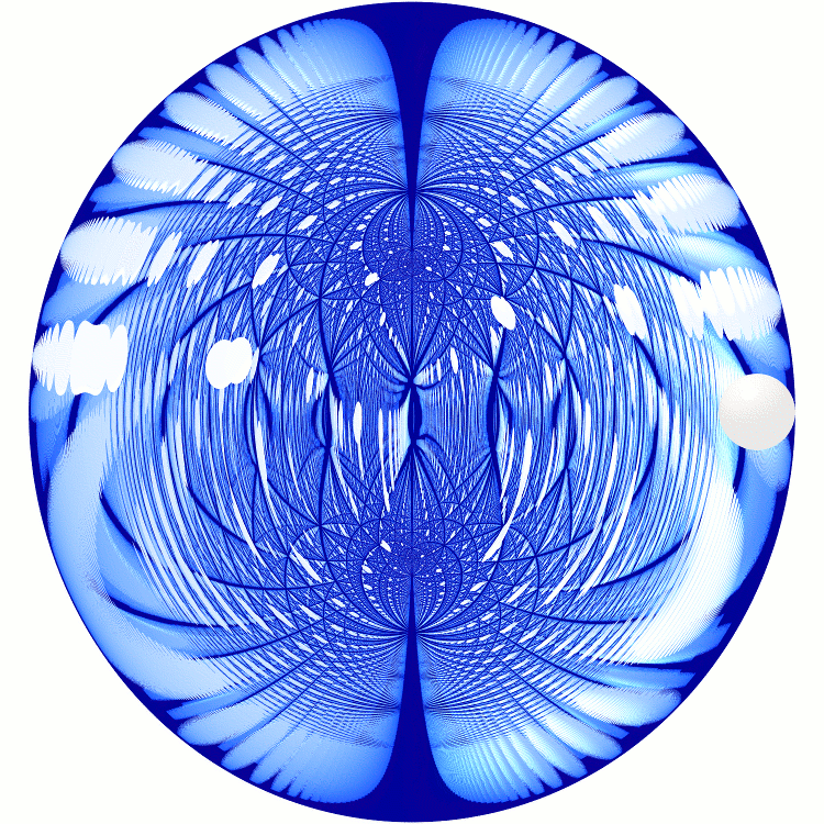 Sphere in Mirrored Spheroid - Refurio Anachro