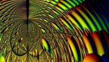 Sphere in Mirrored Spheroid: Closeup 1 - John Valentine