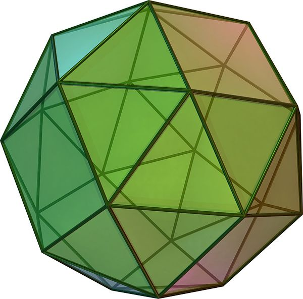 Snub Cube (Clockwise Form) - Cyp