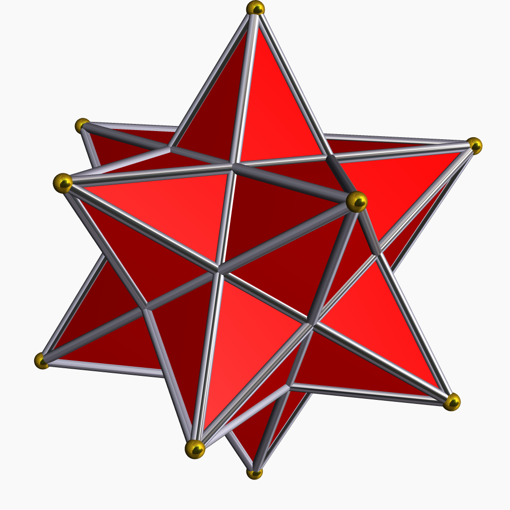 Small Stellated Dodecahedron - Robert Webb