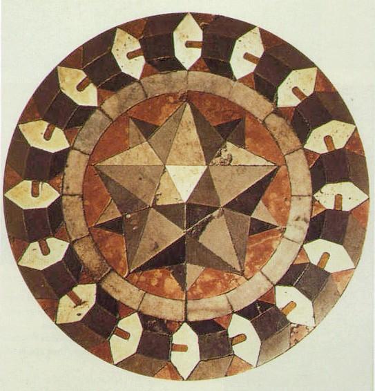 Floor Mosaic, St Mark's Basilica, Venice - Paolo Uccello