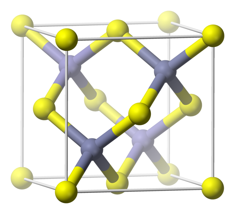 Sphalerite Unit Cell